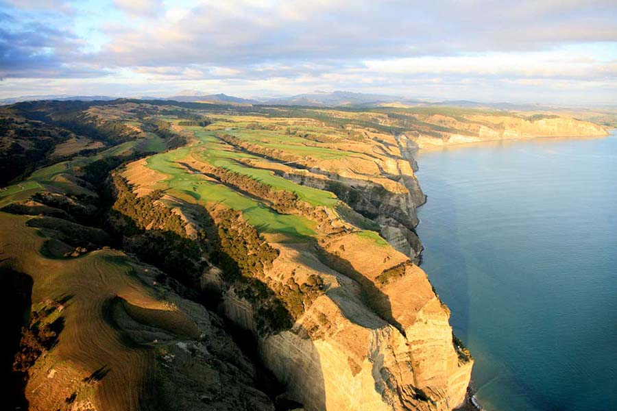 Cape Kidnappers Hawkes Bay New Zealand golf courses