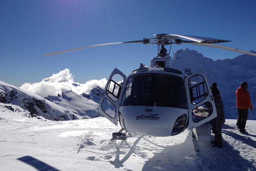 New Zealand Heli Flights