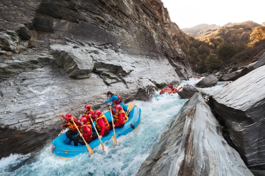 queenstown rafting new zealand adventure tours