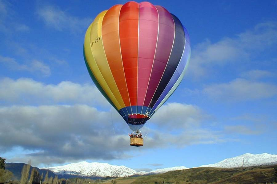 Hot Air Ballooning Queenstown New Zealand adventure tours