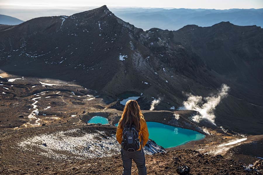 Tongariro Alpine Crossing Volcanic Experience New Zealand vacation packages