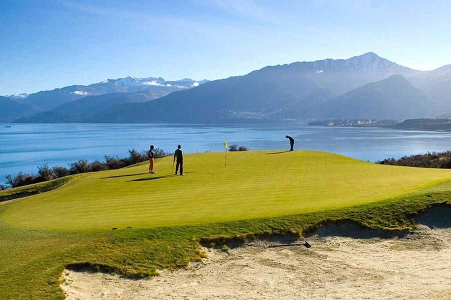 Jacks Point Golf Course Queenstown New Zealand