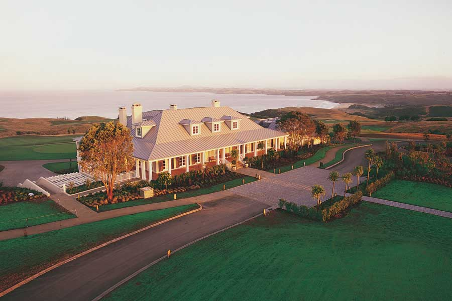 The Lodge at Kauri Cliffs New Zealand all-inclusive resorts