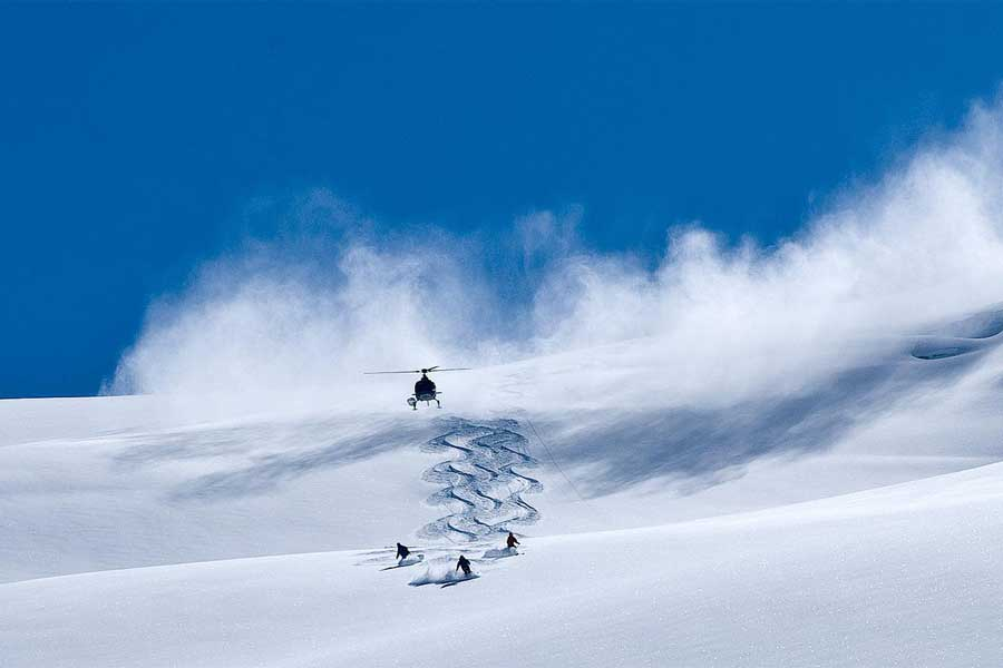 Heli Ski Queenstown Wanaka New Zealand snow packages