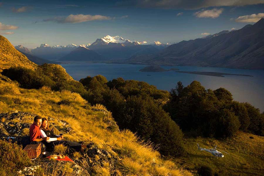 Queenstown helicopter tours scenic flights New Zealand