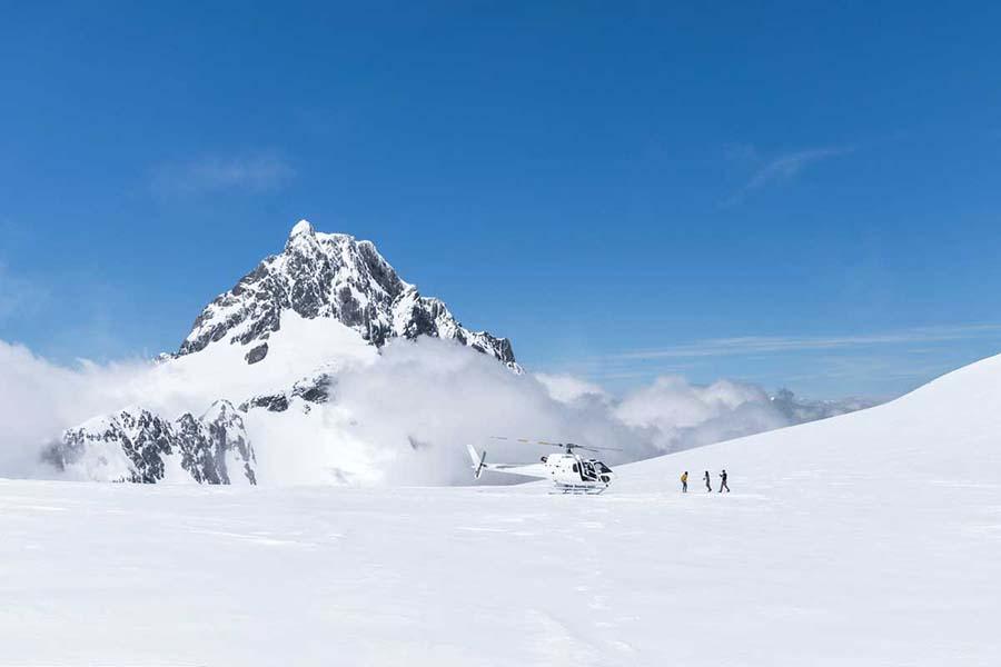 Queenstown helicopter tours scenic flights New Zealand glacier