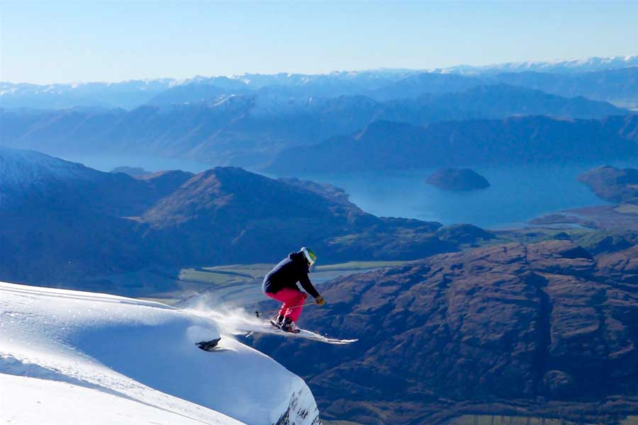 Ski Treble Cone Wanaka New Zealand ski holidays
