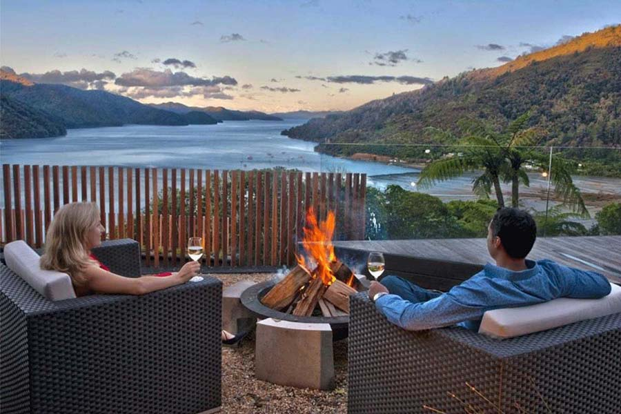 The Sounds Retreat Marlborough luxury lodges of New Zealand honeymoon resorts