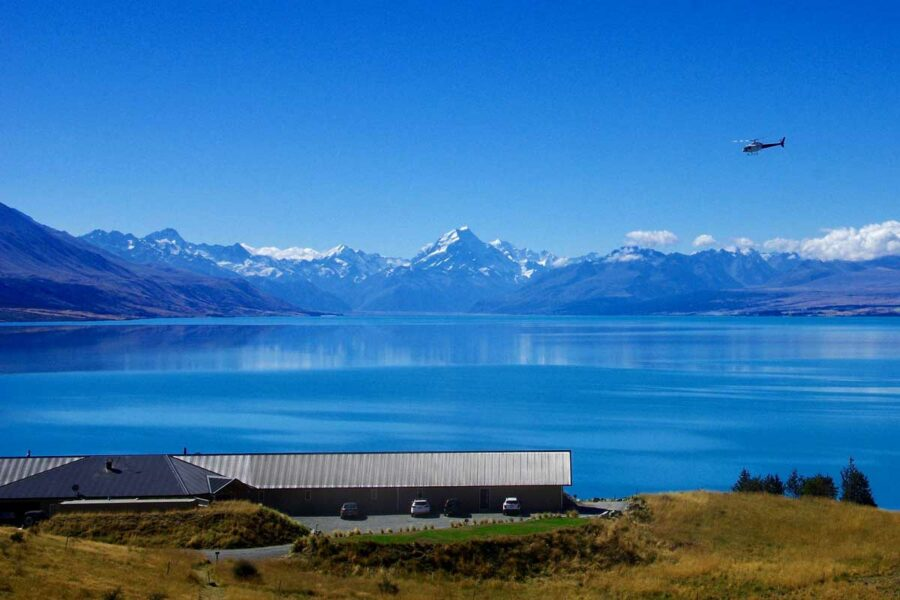 helicopter mount cook alpine retreat honeymoon elopement packages nz