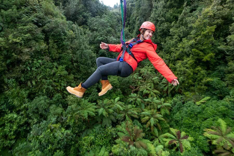 Rotorua Canopy Tours north island long weekend getaway